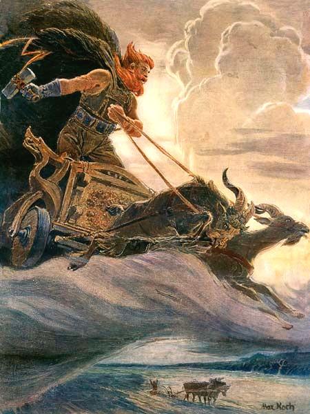 A_painting_by_Max_Friedrich_Koch_-_Donar-Thor